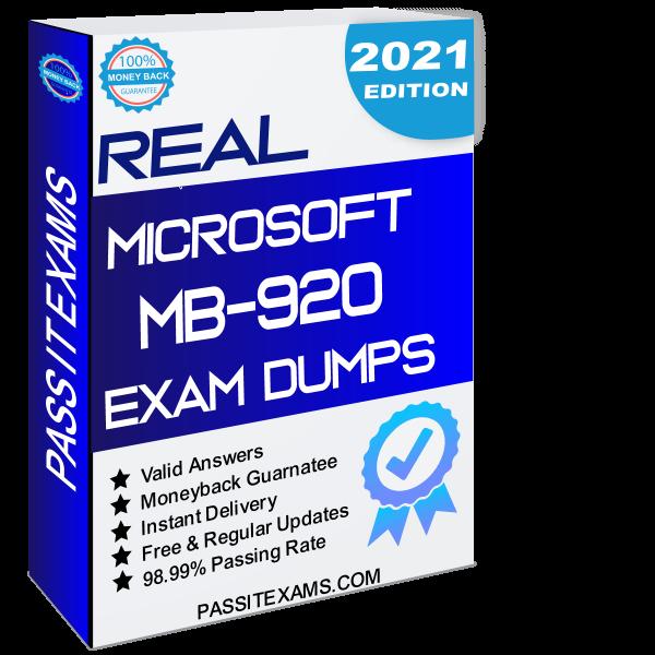 Real MB-920 Exam Dumps