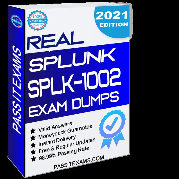 SPLK 1002 Exam Dumps